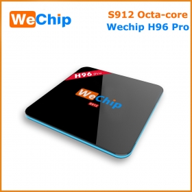 Wechip H96 pro amlogic s912 octa core android3/16G tv box