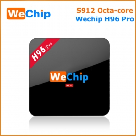 Wechip H96 pro amlogic s912 octa core android7.1 2/16G tv box