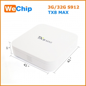 TX8 MAX Amlogic S912 Octa-core 3/32G tvbox