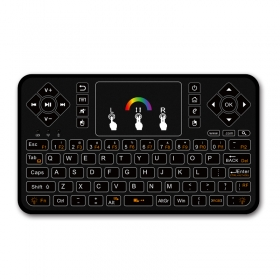 wechip Q9 colorful 2.4Ghz wirelessmini keyboards