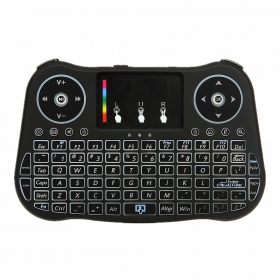 wechip MT08 colorful mini keyboards 2.4G wireless