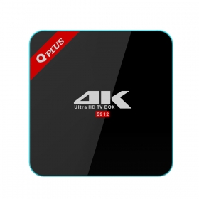 wechip QPLUS S912 Android6.0 2/16G tvbox