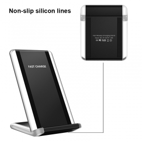 wechip G400 wireless charger support Iphone 8plus Samsung