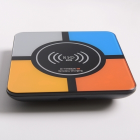 Wireless charging K10 PLUS4GB+32GB S10 PLUS RK3328 Smart TV Box