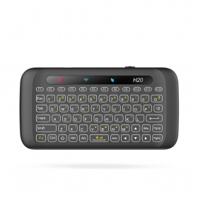 H20 fly mouse mini keyboard for android tv full touch screen key