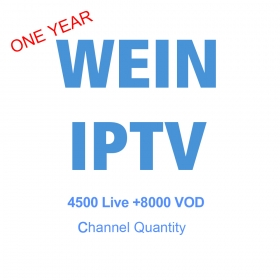 WECHIP WEINTV IPTV ONE YEAR SUBSCRIPTION-Universal version