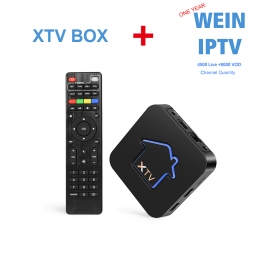 WECHIP XTV BOX SUPPORT STALK WITH 1 YEAR WEIN IPTV SUBSCRIPTIOR