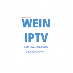 wechip WEINTV iptv 3 month subscription